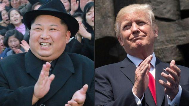 Donald Trump y Kim Jong Un