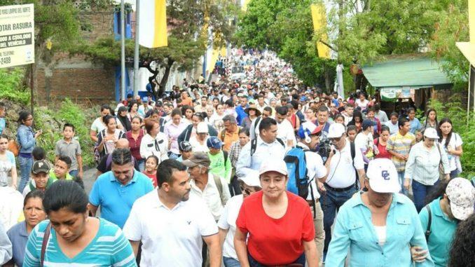peregrinación,Matagalpa,