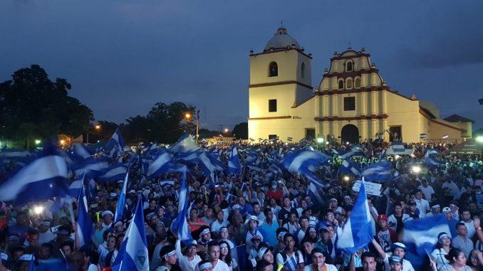 Marchas,nicaragüenses,