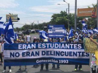 Protestas, Managua