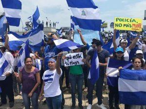 Protestas,Managua,