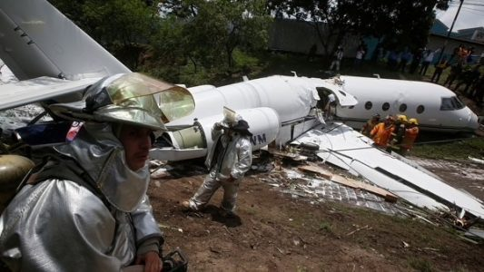 Honduras, accidente aéreo,