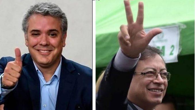 Colombia,segunda vuelta electoral,