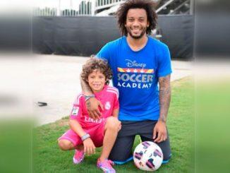 El futbolista brasileño Marcelo