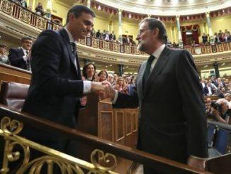 Mariano Rajoy,Pedro Sánchez,