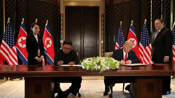 Donald Trump,Kim Jong-un