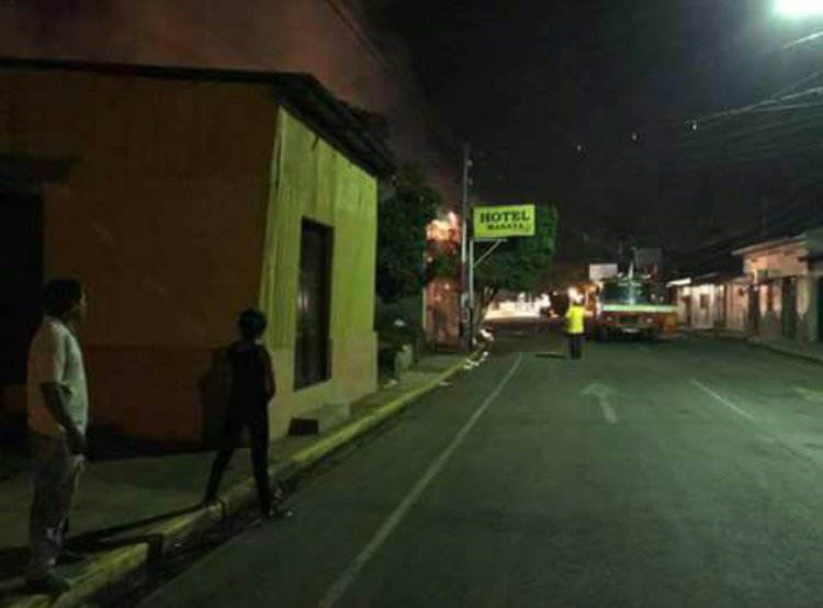 Incendian Hotel Masaya