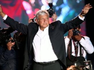 El presidente electo de Mexico, Andrés Manuel López Obrador
