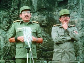 Humberto Ortega y Daniel Ortega