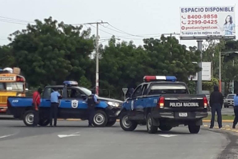 Policía en Masaya