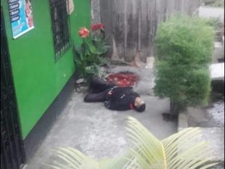 Muerto en barrio Sandino, Jinotega