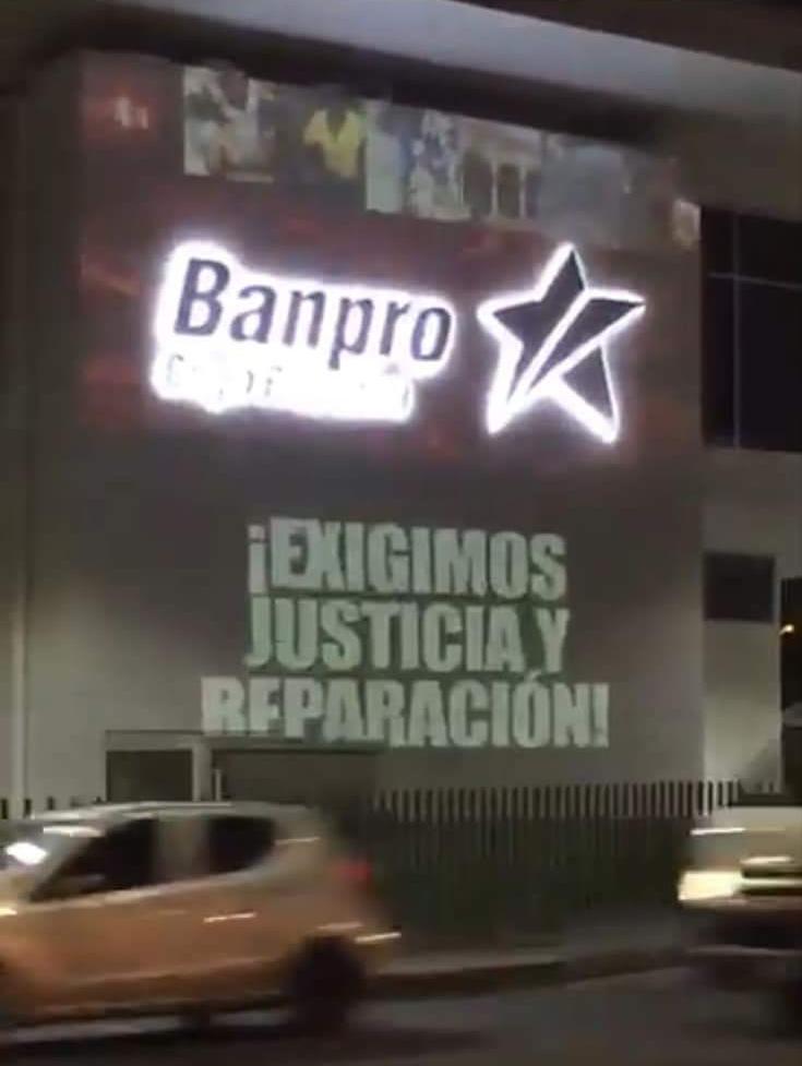 Denuncia Paramilitares Banpro