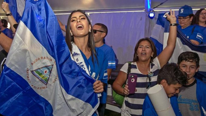 Estadio de los Marlins,Nicaragua,himno,