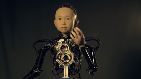 robot niño