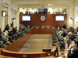 Comisión de trabajo,OEA,Nicaragua,