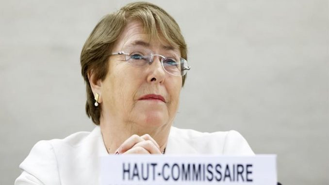 Nichelle Bachelet,Nicaragua,Venezuela,