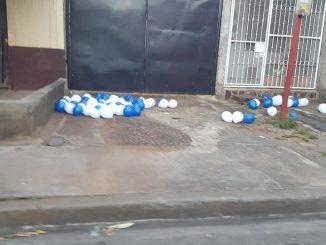 Globos en Managua