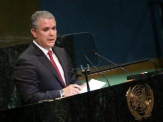 Iván Duque,ONU