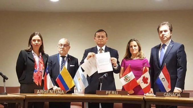 Seis países,Corte Penal Internacional,Venezuela,