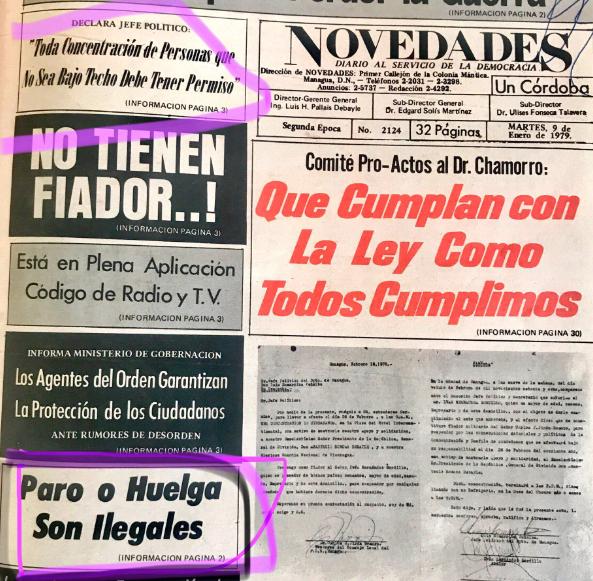 Portada Novedades 9 enero 1979