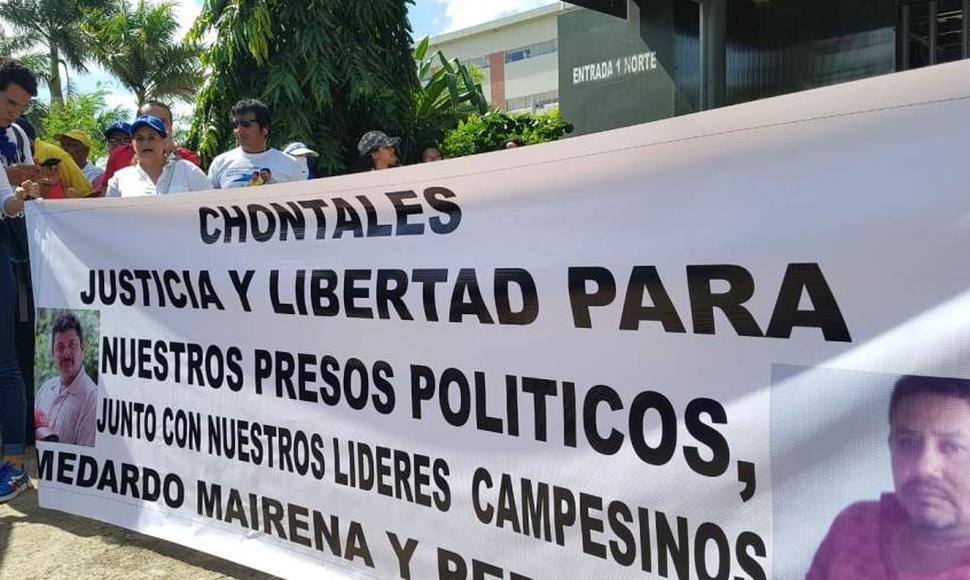 Medardo Mairena, preso político