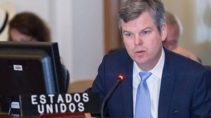 Kevin Sullivan,Embajador de Estados Unidos,Nicaragua,