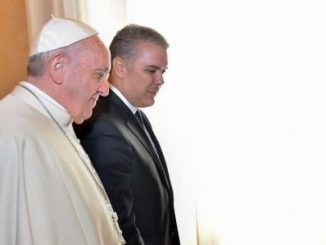 Papa Francisco,presidente Iván Duque,