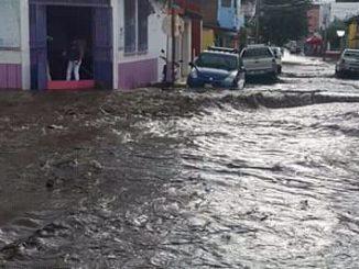 Inundaciones en Estelí