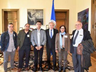Unidad Nacional Azul y Blanco,Luis Almagro,OEA,