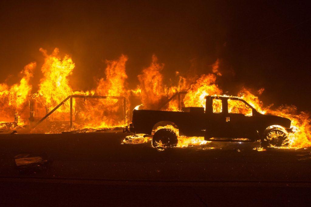 incendios forestales de California