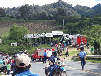 Accidente bus Jinotega