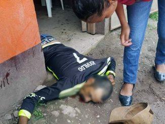 Matan a ciudadano Wiwili