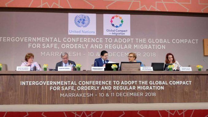 Adopta ONU pacto migratorio
