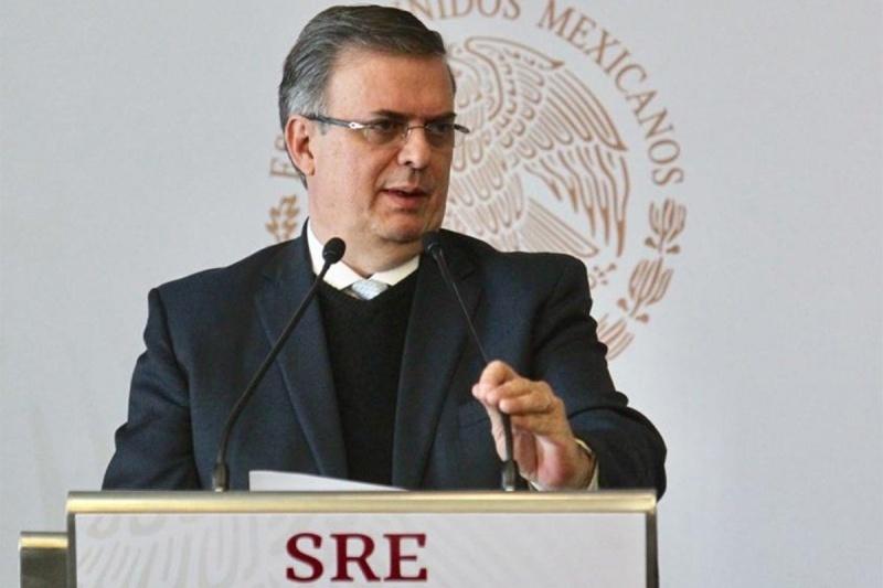 El ministro mexicano de Exteriores, Marcelo Ebrard