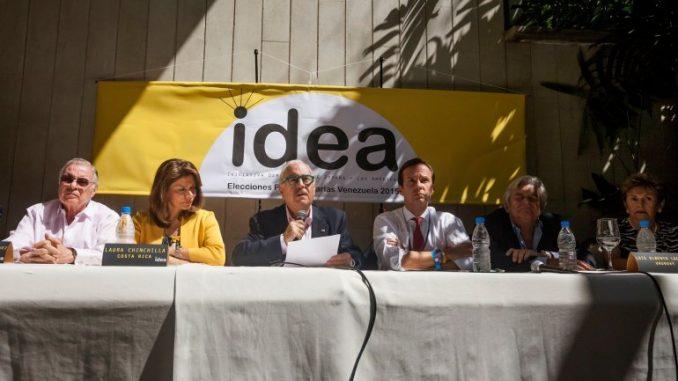 Evo Morales,IDEA,