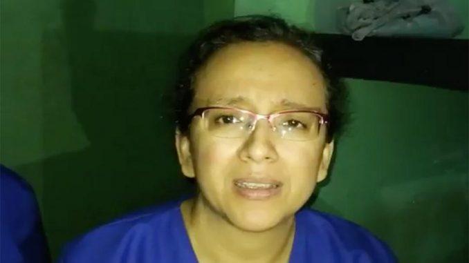 Periodista nicaragüense-costarricense, Lucía Pineda, jefa de prensa del canal 100 % Noticias