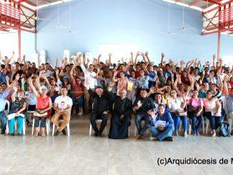 Peregrinos Arquidiócesis Managua