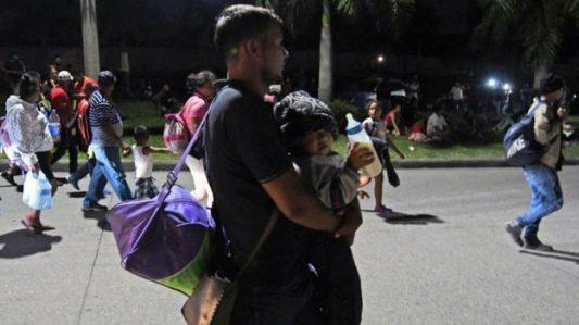Inmigrantes,caravana,Honduras,