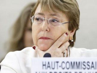 Michelle Bachelet,ONU,