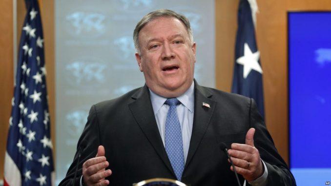 Mike Pompeo, secretario de Estado de Estados Unidos (EE UU),