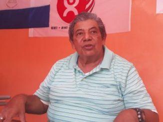 Sindicalista Nilo Salazar.