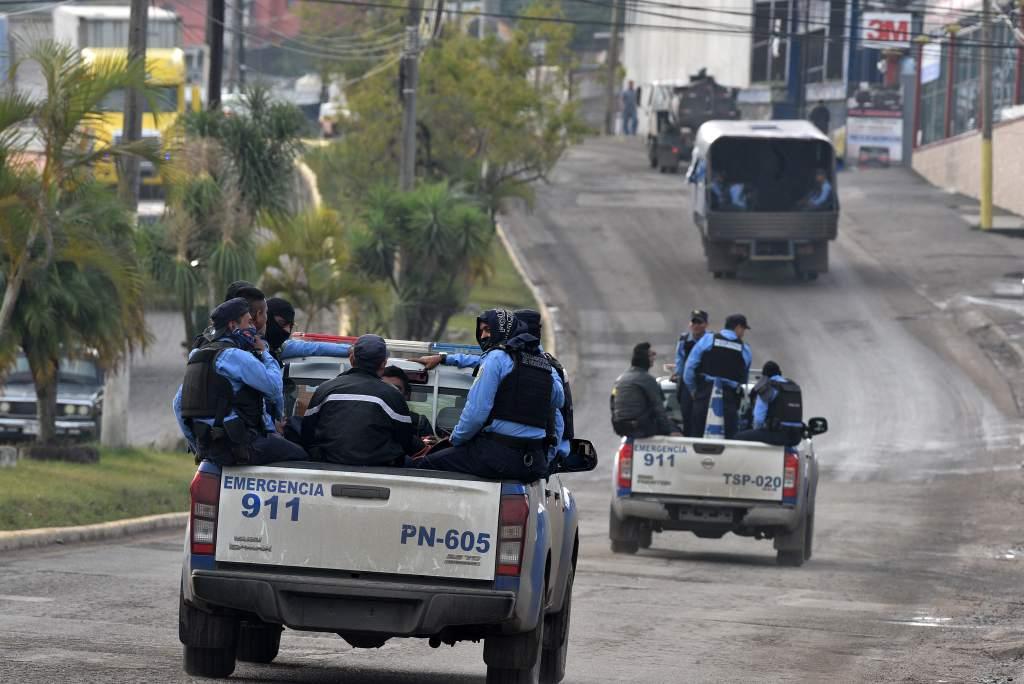 Honduras asegura frontera con Guatemala