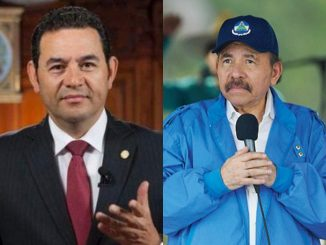 Jimmy Morales y Daniel Ortega