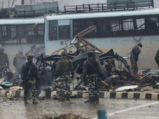 Coche bomba en la India