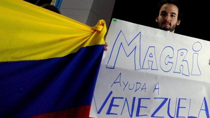 Argentina apoyo a la Reconstrucción de Venezuela