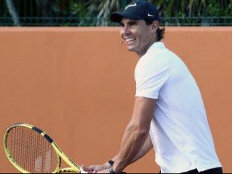 El español Rafael Nadal, segundo del ránking mundial de la ATP