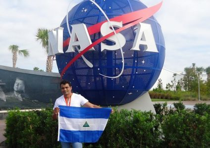 Allan Castillo Pacheco, científico nicaragüense galardonado por la NASA