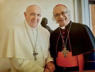 Papa Francisco y Cardenal Brenes