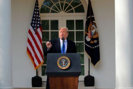 Donald Trump-Emergencia nacional