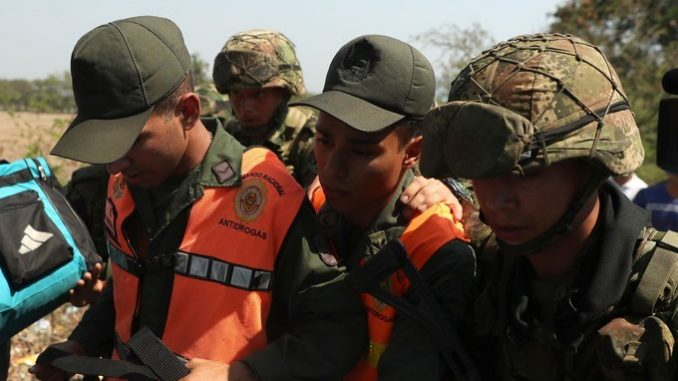 Desertores a Colombia